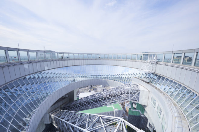 梅田スカイビル 屋上階スカイ・ウォーク