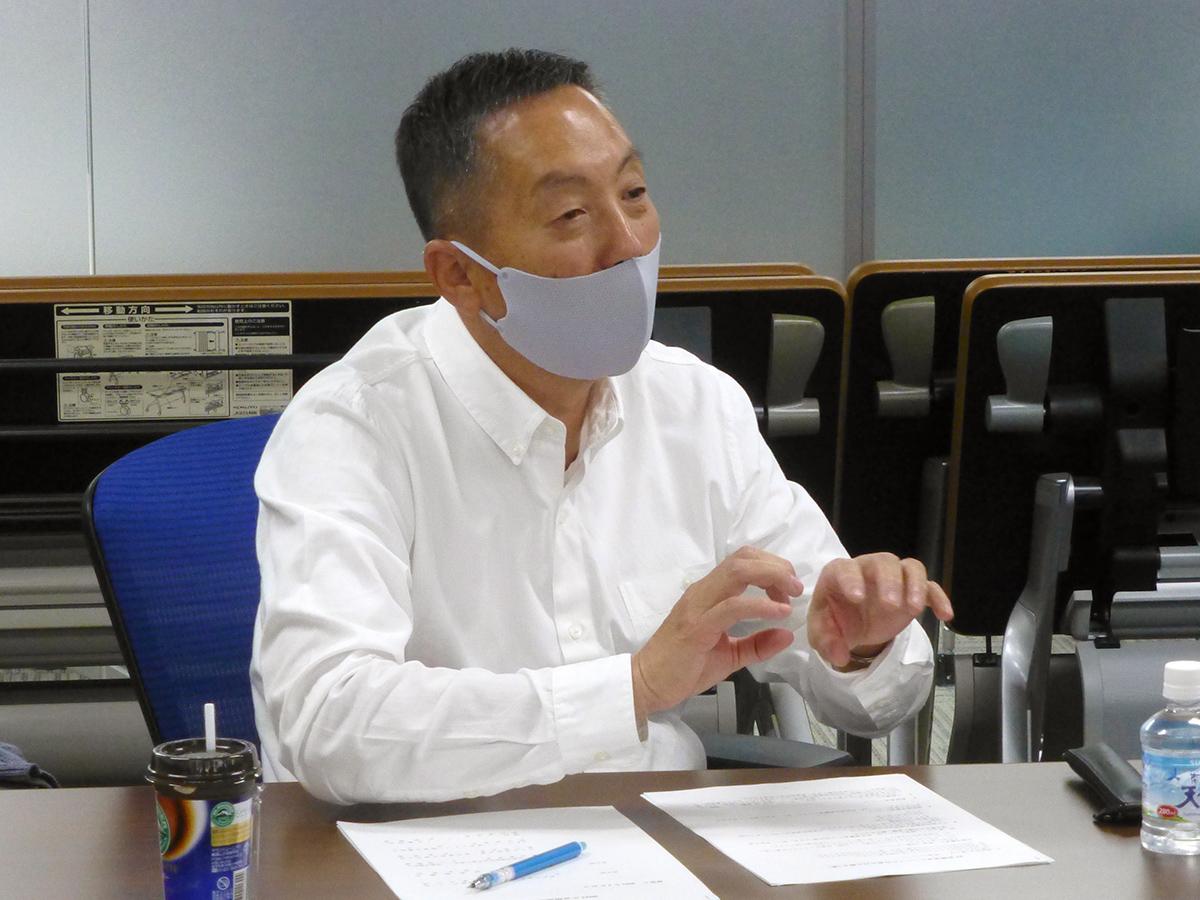 オーナー会理事の山田英幸氏